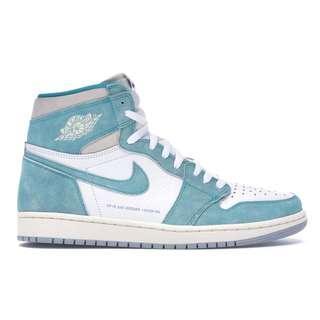[US 9.5,10.5,13] Nike Air Jordan 1 Retro High Turbo Green