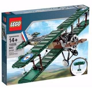 Lego 10226 Sopwith Camel New
