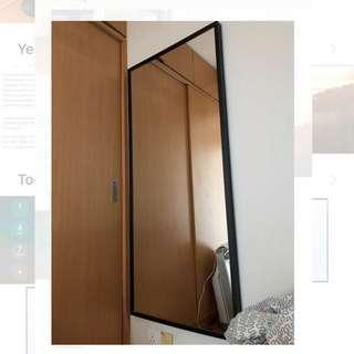 Ikea mirror Nissedal 1.6mx0.7m