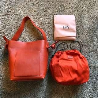 Katie Judith Orange Bag