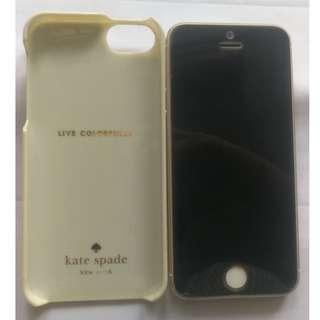 Used iPhone 5s Gold, 16GB, model: A1530, MF354ZA/A, at $130