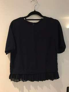 Brand new Zara ruffle top