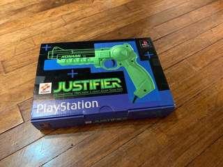 Playstation Justifier Gun
