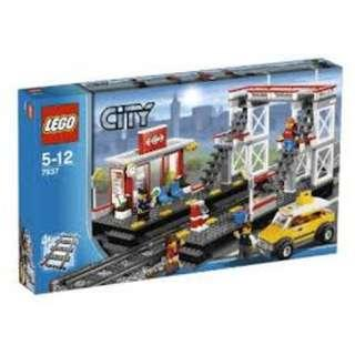LEGO City 7937 Train Station New Sealed