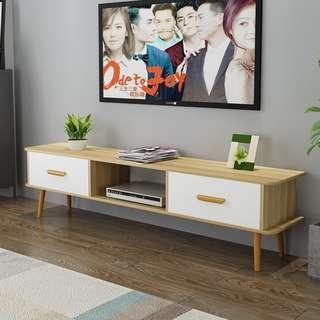 北歐電視櫃茶几組合現代簡約小戶型電視桌客廳臥室經濟型電視機櫃