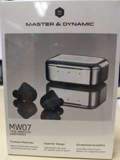 🚚 Master & Dynamic True Wireless Earphone Steel Blue