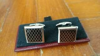 Van Garie square diamond Cufflinks