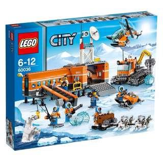 Lego 60036 Arctic Base Camp Brand New