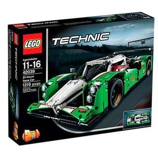 Lego 42039 Technic-24 Hours Race Car 2-in-1 model New