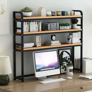 桌面書架置物架簡易桌上宿舍學生用多層收納架子多功能省空間書架