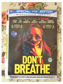 DVD FILM DONT BREATH