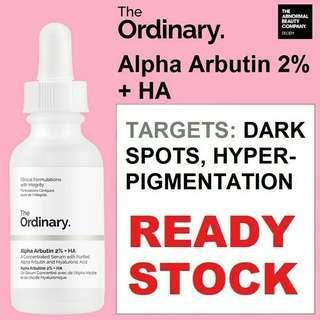 [NEW&READY STOCK] The Ordinary Alpha Arbutin 2% + HA 30ml