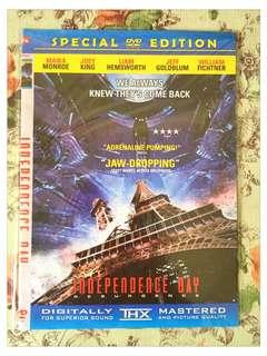 DVD FILM INDEPENDENCE DAY