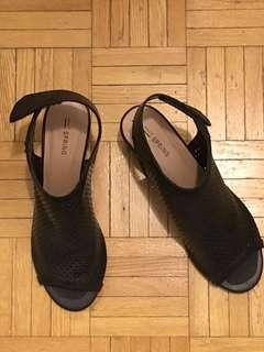 Black Call It Spring Sandal - Never Used