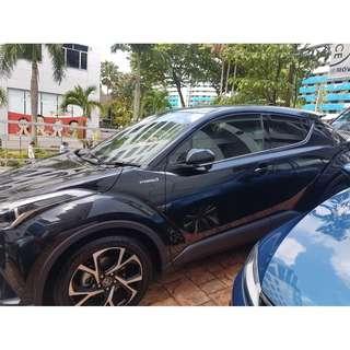 🚚 Toyota C-Hr 1.8 Hybrid G model CAR RENTAL