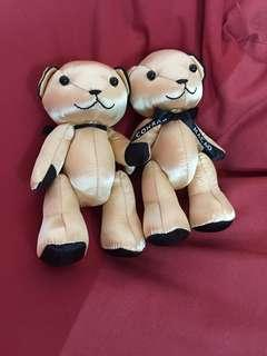 Macau bear couple GOLD