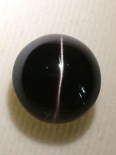 Silimanite cat's eye oval cabochan ROUND