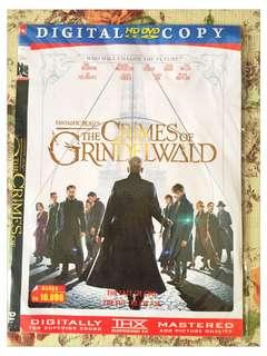 DVD FILM THE CRIMES OF GRINDELWALD
