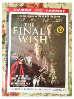 DVD FILM FINAL WISH