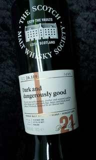 SMWS 26.119 Clynelish, Dark and Dangerously Good 1995 21年原酒 威士忌 Whisky Scotch