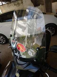 Imported windshield