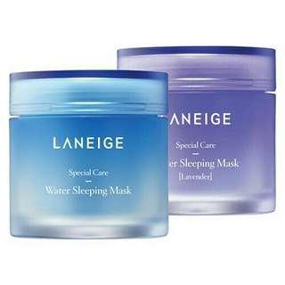 [NEW&READY STOCK] Laneige Water Sleeping Mask / Lavender Water Sleeping Mask 15ml/70ml 100% original