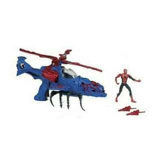 蜘蛛侠直升機(紅色)