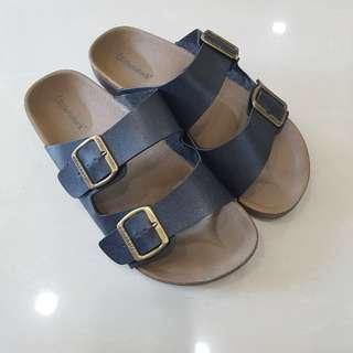 BIRKENSTOCK SANDALS SIZE 41/7/8 BLACK