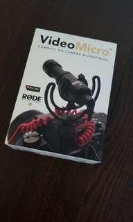 Rode Videomicro mic