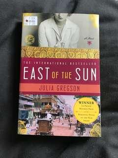 📚East of the Sun, Julia Gregson