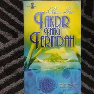 [Novel Melayu] TAKDIR YANG TERINDAH - Nana Faiz