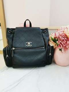 12c96d6de8ee -SOLD -Chanel backpack calfskin