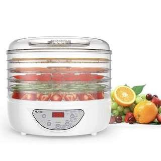 MLITER 🔥🔥🔥 3.9 out of 5 stars  25 Reviews MLITER 240W Food Dehydrator 5 Tier, Electric Digital Fruit Dryer Preserver/Flower with Adjustable Temperature and Time Control for Vegetable Snack
