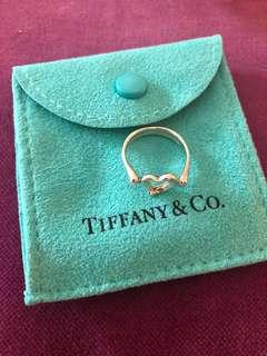 Tiffany & Co Open Heart Ring Size US5