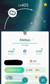 🚚 Pokemon Go Shiny Meltan Shiny Snubbull for Sale!!