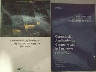 🚚 AC2302 Company Law - Commercial Applications of Company Law in Singapore 4th Edition
