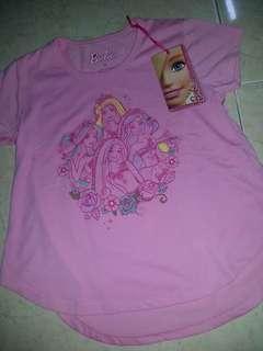 Barbie t - shift for kids