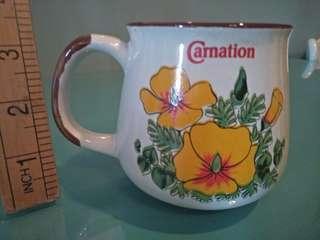 Vintage carnation mug