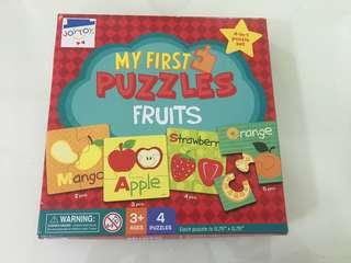 My First Puzzles (Fruits)