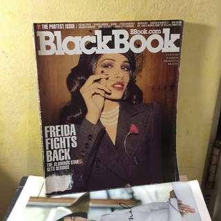 BLACKBOOK Magazine – Freida Pinto – The Protest Issue