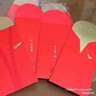 國泰 港龍 2019年 利是封 制服傳心意 (收藏版) Cathay Pacific Cathay Dragon Lai see packet Heartfelt Red packet