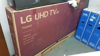 "FACTORY UNIT: LG 70"" Smart TV UHD 4K  Active HDR TV ThinkQ AI"