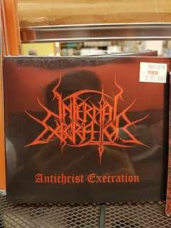 INFERNAL EXECRATOR - ANTICHRIST EXECRATION CD