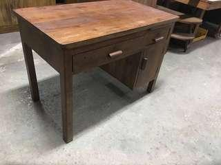 Fast Deal Sale $199 Vintage Teak Wood Study Table