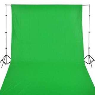 🚚 BN Chrome Key Effect Muslin Cloth + Backdrop Stand Bundle