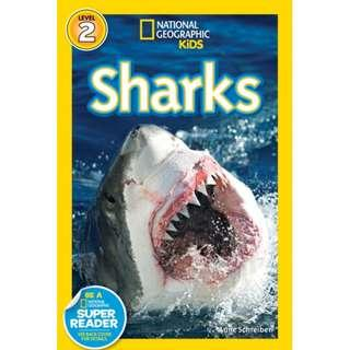 🚚 National Geographic Kids Readers: Sharks (ISBN: 9781426302862)