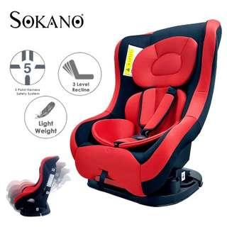 PREMIUM INFANT CHILDREN SAFETY CAR SEAT RECLINABLE CAR SEAT WITH DETACHABLE SEAT PAD AND COVER