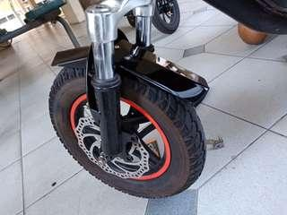 Custom Made AM Acrylic Front And Back Mudguards