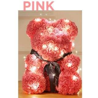 Limited Stocks available! Everlasting Rose Bear with LED Giftbox!