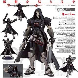 "全新未開封現貨 GOODSMILE figma 393 ""Overwatch"" Reaper   死神"